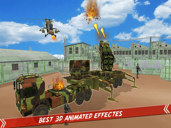 Helicopter Defence Strike - 3d Anti Aircraft Games screenshot 7