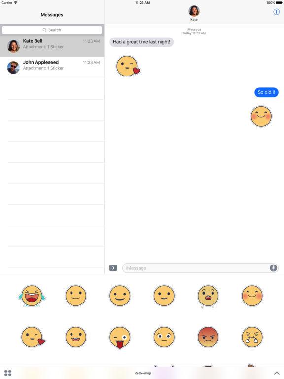 Retromoji - Animated Emoji Stickers screenshot 5