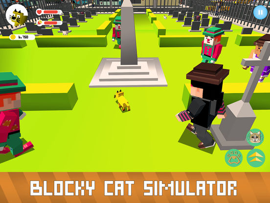 Blocky Cat Simulator Full screenshot 7