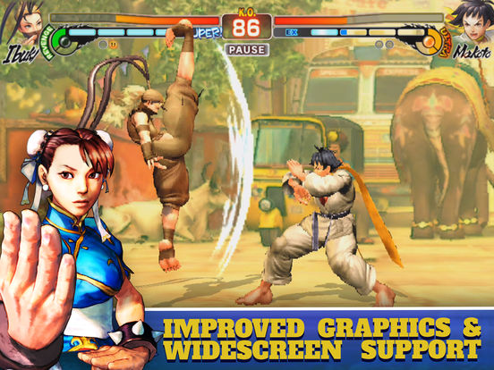 Street Fighter IV CE screenshot 8