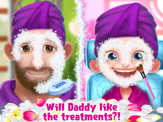 Crazy Spa Day with Daddy screenshot 7
