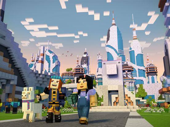 Minecraft: Story Mode - Season Two screenshot #3