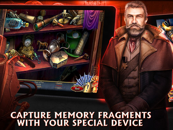 Grim Facade: The Red Cat - Hidden Objects screenshot 8