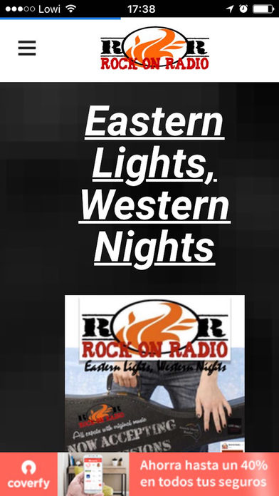 Rock On Radio screenshot 1