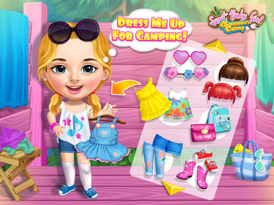 Sweet Baby Girl Summer Camp - No Ads screenshot 7