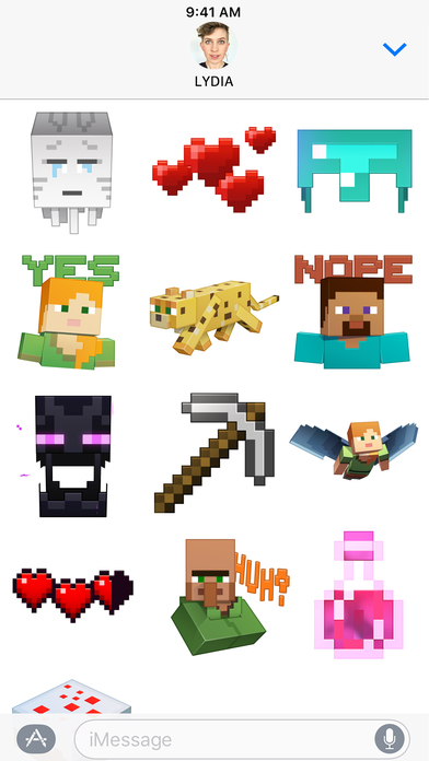 Minecraft Sticker Pack screenshot 3