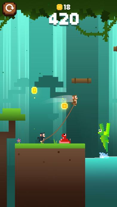 Monkey Ropes screenshot 1