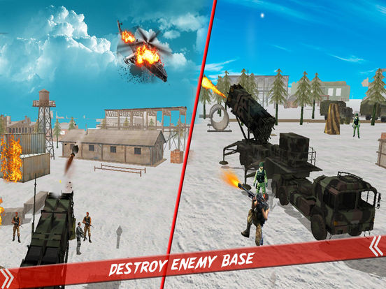 Helicopter Defence Strike - 3d Anti Aircraft Games screenshot 9