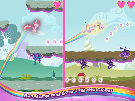 My Little Pony Rainbow Runners screenshot 6