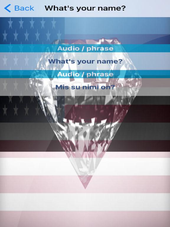 Estonian Phrases Diamond 4K Edition screenshot 6
