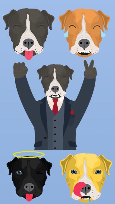 PitMojis - Pit Bull Emoji & Stickers | Apps | 148Apps