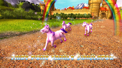 Pony Family Simulator Full screenshot 1