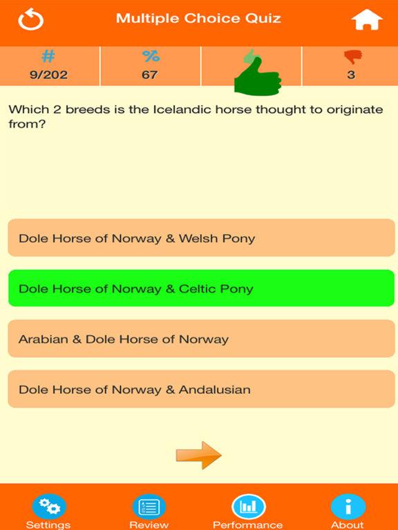 Horse Breeds Quizzes screenshot 8