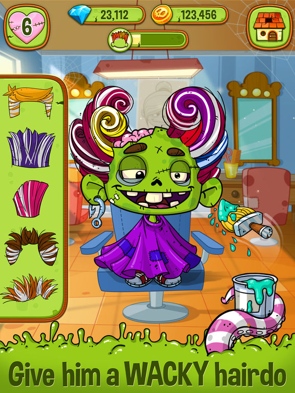 Zedd the Zombie - Grow Your Wacky Friend screenshot 7