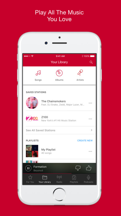 radio app for iphone iheartradio free amp radio stations on the app 15925