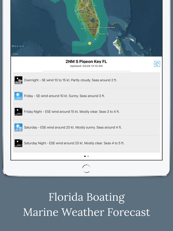 Florida Boating Weather screenshot 6