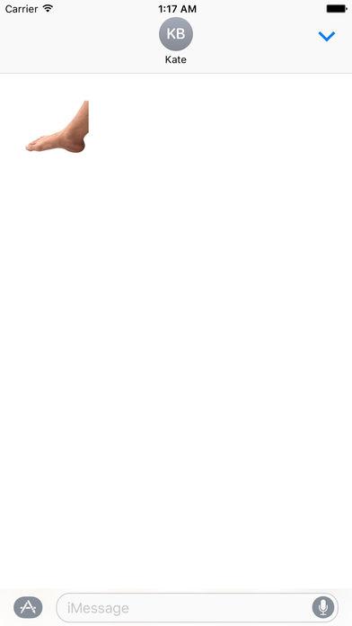 Animated Hand And Foot Sticker screenshot 2