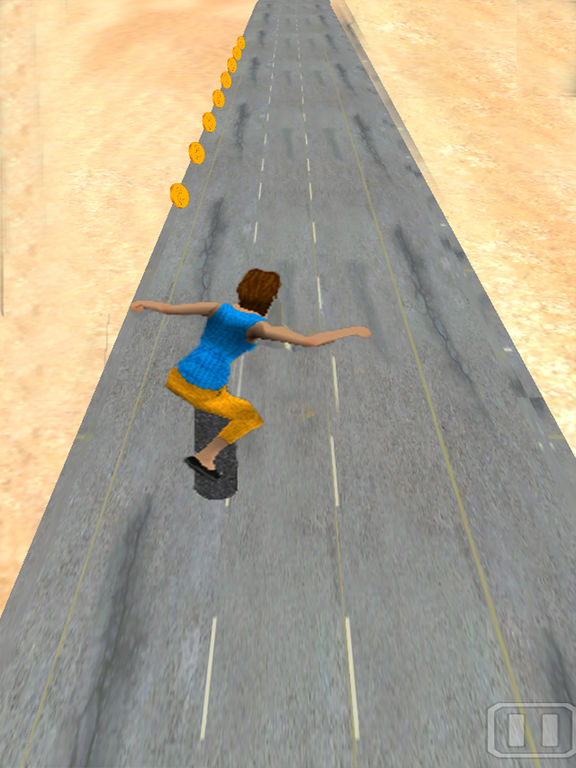 Skating run 3D screenshot 7