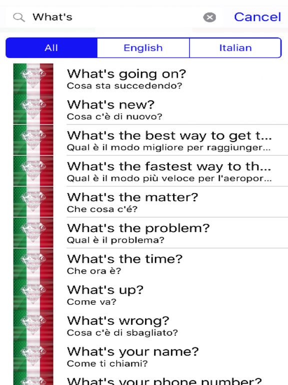 Italian Phrases screenshot 5