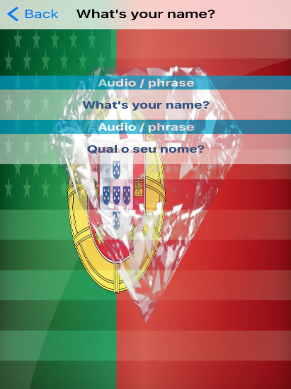 Portuguese Phrases screenshot 6