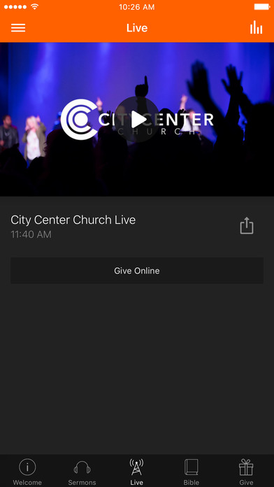 City Center Church App screenshot 3