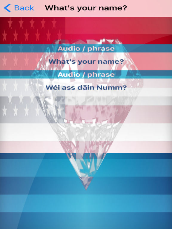 Luxembourgish Phrases Diamond 4K Edition screenshot 6