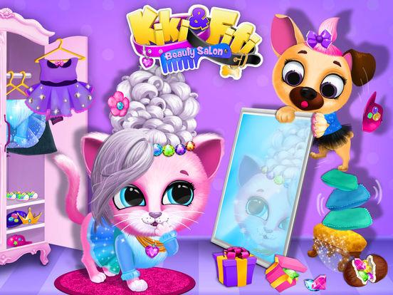 Kiki & Fifi Pet Beauty Salon - No Ads screenshot 6