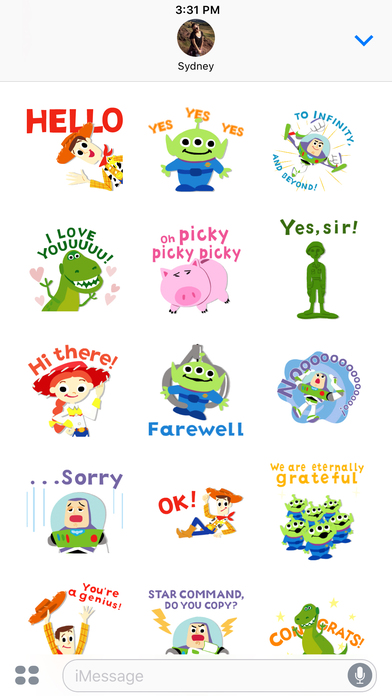Pixar Stickers: Toy Story screenshot 4