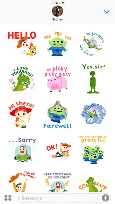 Pixar Stickers: Toy Story screenshot 4