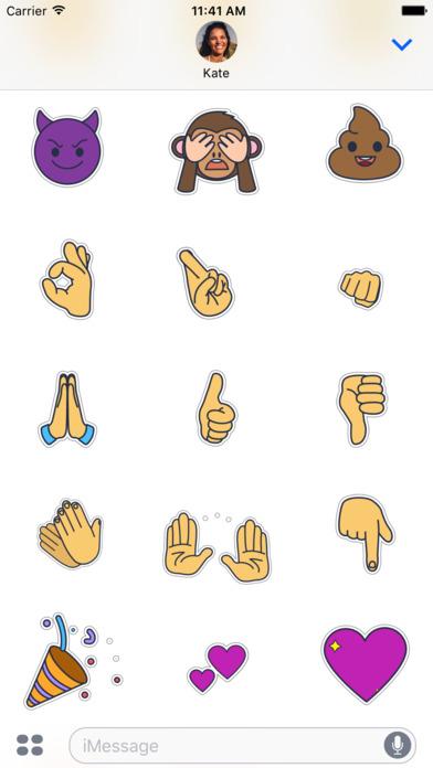 Retromoji - Animated Emoji Stickers screenshot 3