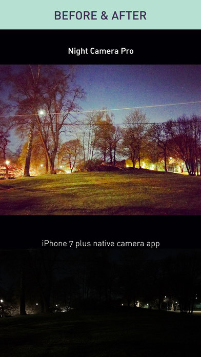 Night Camera Pro — Noise Free Low Light Photo DSLR screenshot 3