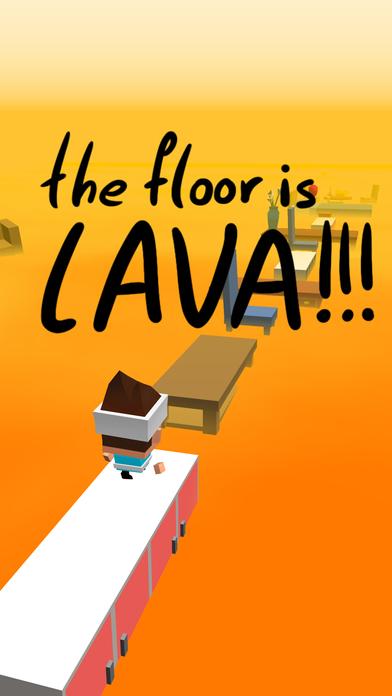 The Floor Is Lava screenshot 1