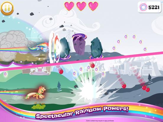 My Little Pony Rainbow Runners screenshot 9