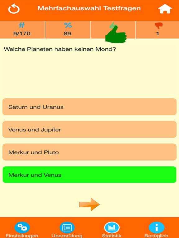 Das Sonnensystem Quiz screenshot 7