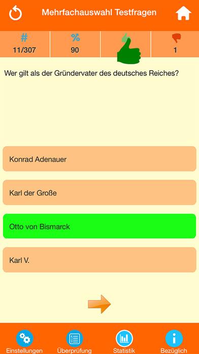 Deutsche Geschichte Quiz screenshot 2