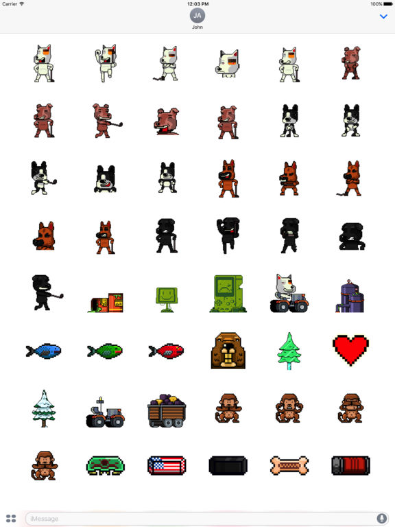 Dog Gone Golfing Sticker Pack screenshot 6