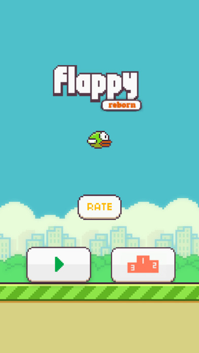 Flappy Reborn - The Bird Game screenshot 1