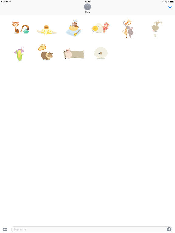 Hay Day Stickers screenshot #2