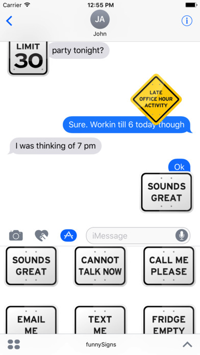 100+ Funny Road Signs Sticker Pack screenshot 4