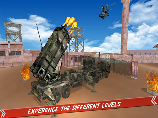 Helicopter Defence Strike - 3d Anti Aircraft Games screenshot 10