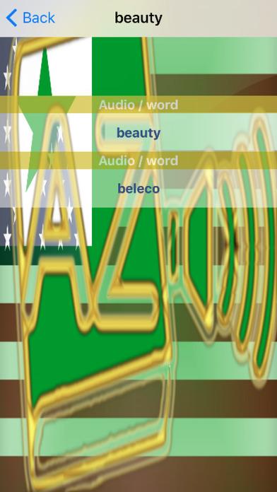 Esperanto Dictionary GoldEdition screenshot 5