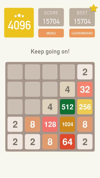 4096 Classic Puzzle! screenshot 1