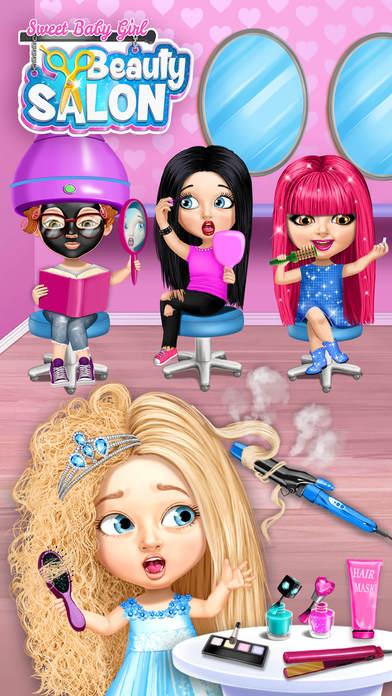 Sweet Baby Girl Beauty Salon 3 screenshot 1