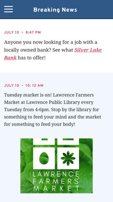 Downtown Lawrence screenshot 2