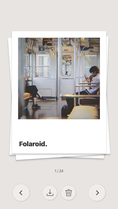 Folar - Instant film camera screenshot 3