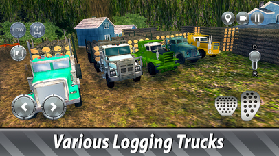 Sawmill Trucks Simulator Full screenshot 4
