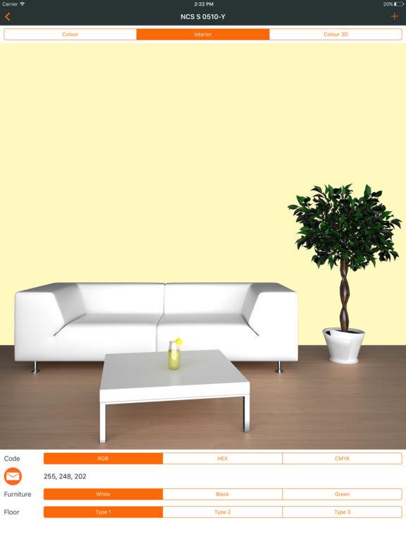 Ncs color chart. 3D fan deck screenshot 7