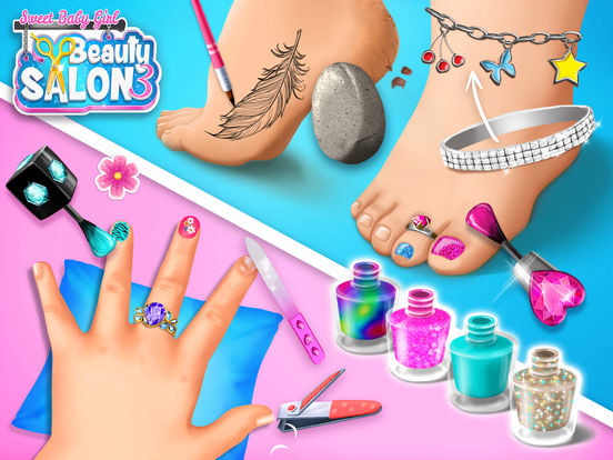 Sweet Baby Girl Beauty Salon 3 - No Ads screenshot 10