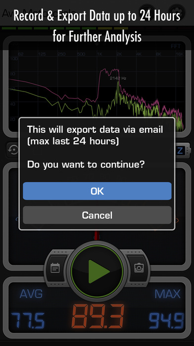 Decibel X PRO: dBA Noise Meter screenshot 5