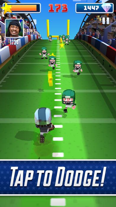 Marshawn Lynch Blocky Football screenshot 2